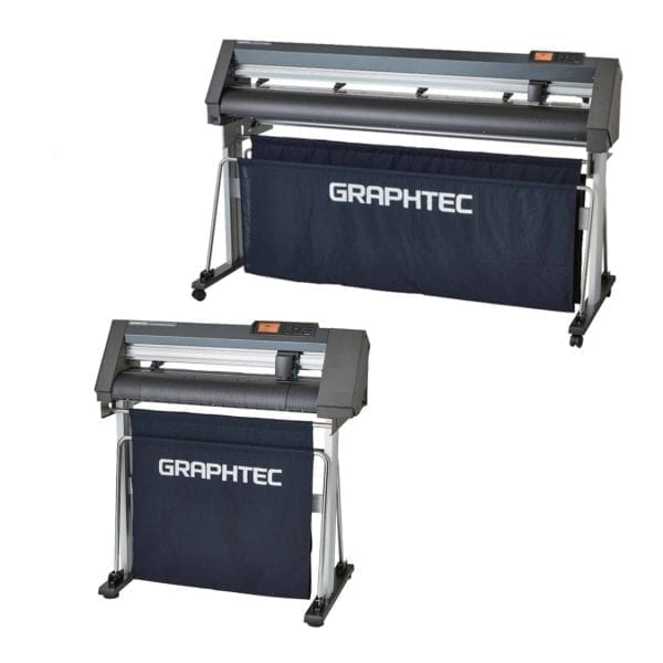 Graphtec CE7000 Cutter viewed from the side.