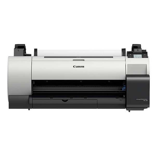 Canon imagePROGRAF TA-20 Printing With Canon PFI-030 Inks