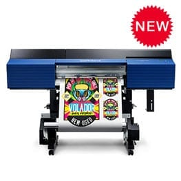 Roland SG2 Printer printing and cutting stickers