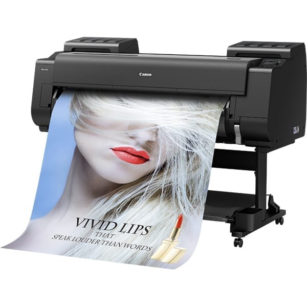 Canon ImagePrograf 4100s MKII Front View Printing Poster of Women