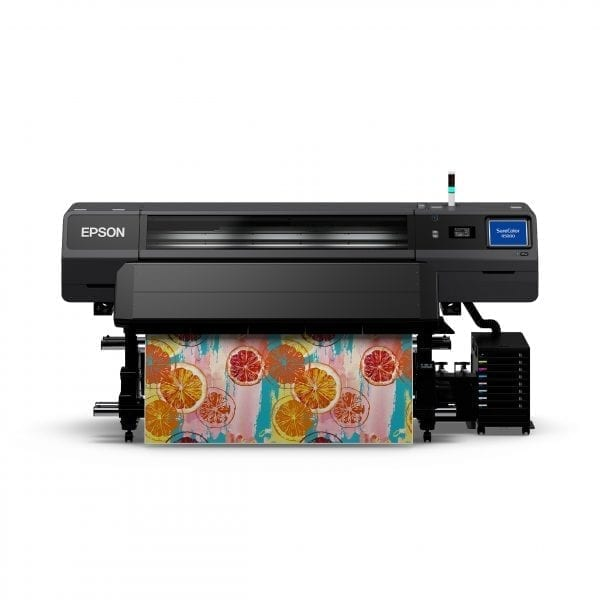 Epson SC-R5000 Printing colourful pattern