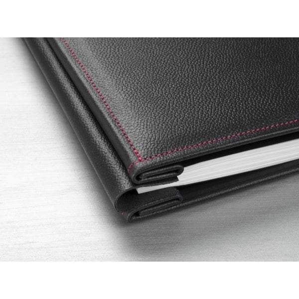 Hahnemuhle Red Stitched Leather Album