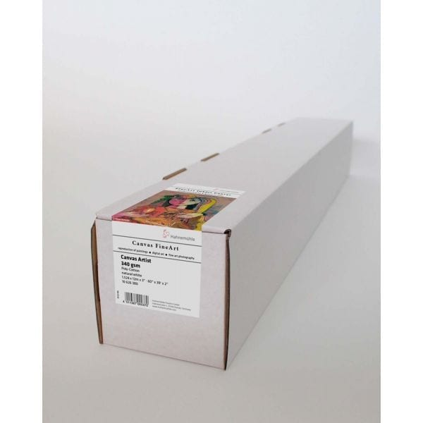 Hahnemuhle Canvas Artist 60 Roll in a box with canvas label on